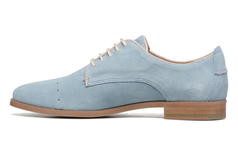 Chaussures à lacets Faguo Rose02 Bleu vue face