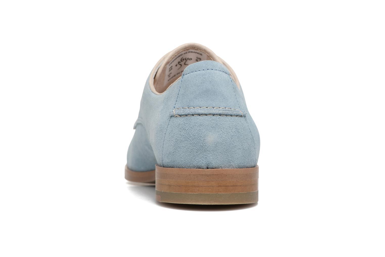 Chaussures à lacets Faguo Rose02 Bleu vue droite