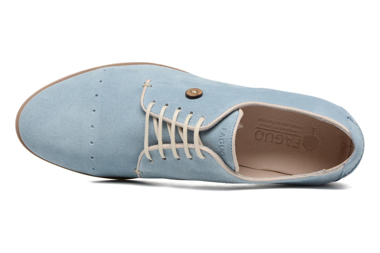 Chaussures à lacets Faguo Rose02 Bleu vue gauche