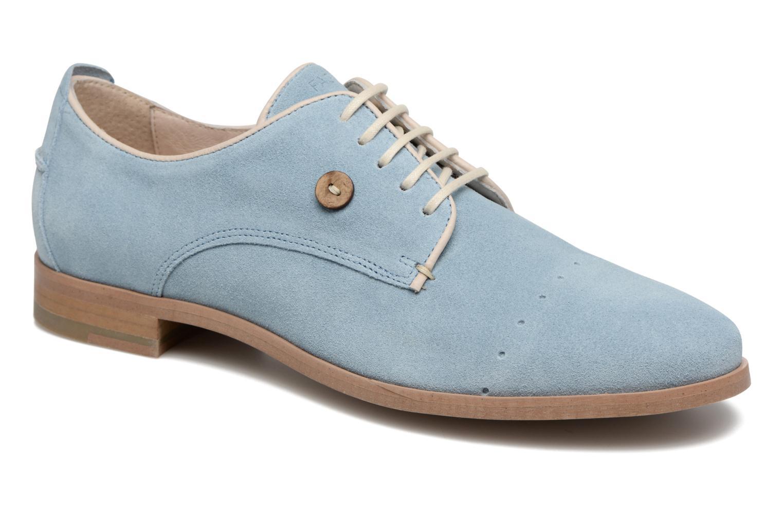 Chaussures à lacets Faguo Rose02 Bleu vue détail/paire