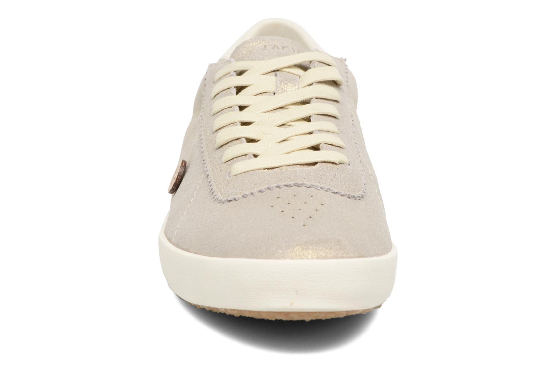 Baskets Faguo Spindle03 Or et bronze vue portées chaussures