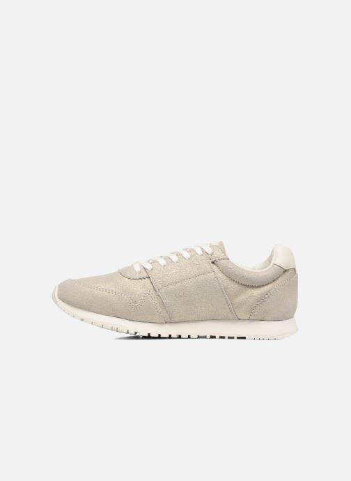 Sneakers Faguo Olive03 Silver bild från framsidan