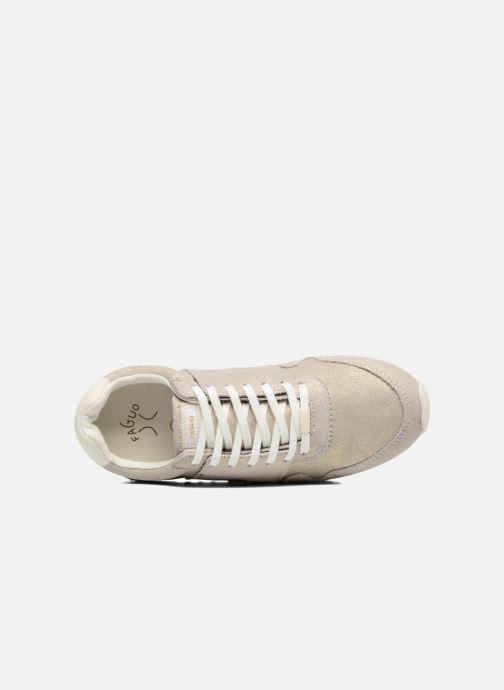 Sneakers Faguo Olive03 Silver bild från vänster sidan