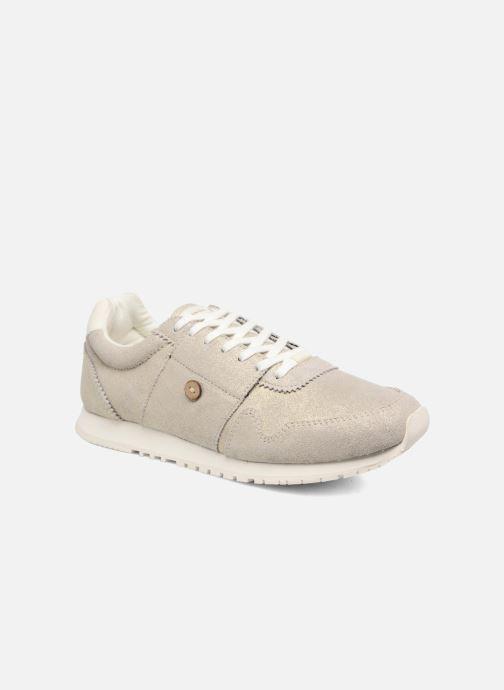 Sneakers Faguo Olive03 Silver detaljerad bild på paret