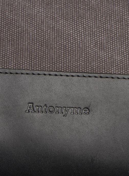 Rucksacks Antonyme by Nat & Nin Josh Grey view from the left