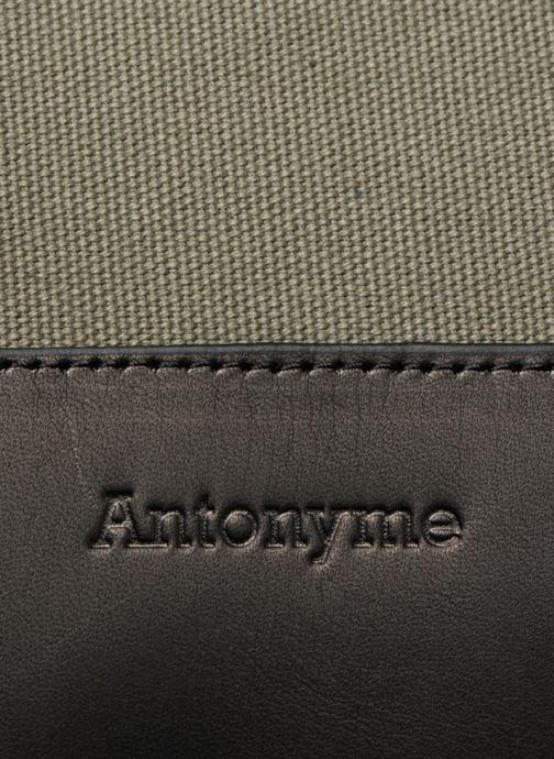 Rucksäcke Antonyme by Nat & Nin Josh grün ansicht von links