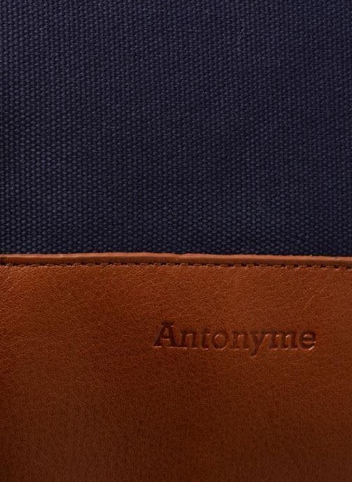 Bagages Antonyme by Nat & Nin Dries Bleu vue gauche