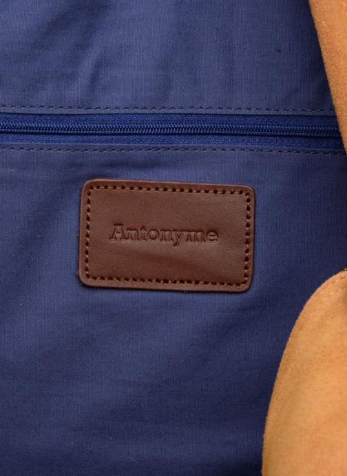 Bagage Antonyme by Nat & Nin Dries Bruin achterkant