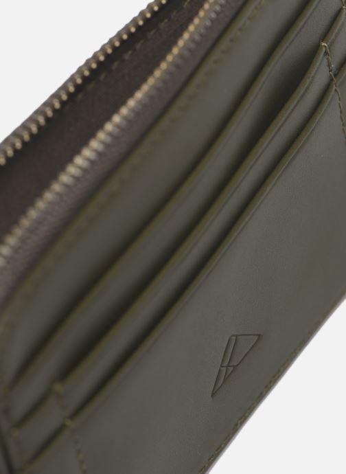Kleine lederwaren Antonyme by Nat & Nin Lino Groen achterkant