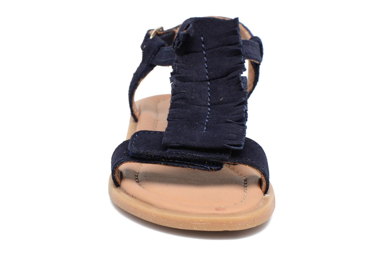 Sandali e scarpe aperte Bisgaard Jona Azzurro modello indossato