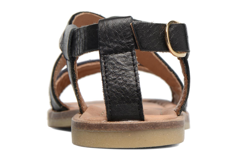 Sandales et nu-pieds Bisgaard Mia Noir vue droite