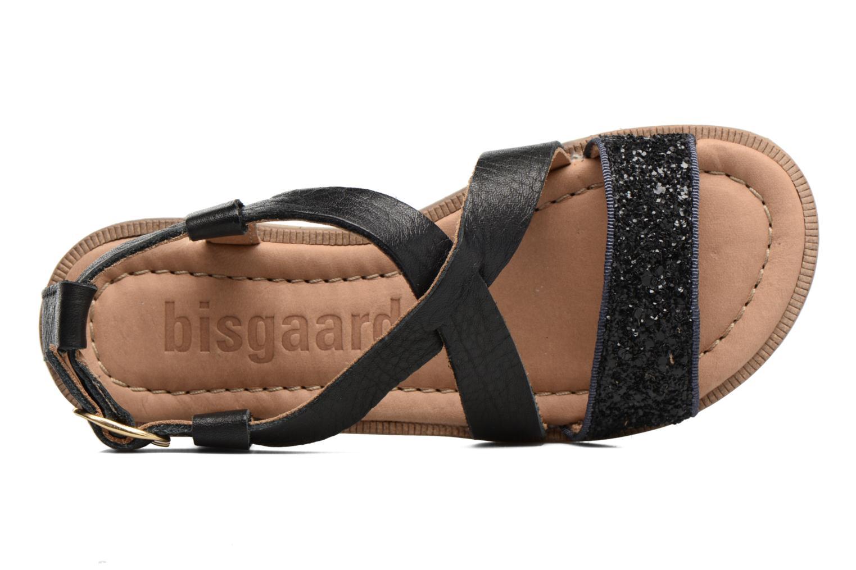 Sandales et nu-pieds Bisgaard Mia Noir vue gauche