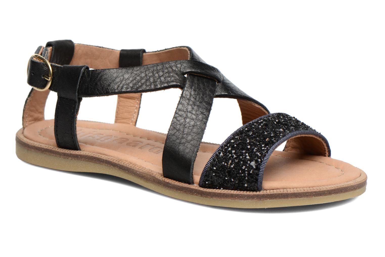 Sandales et nu-pieds Bisgaard Mia Noir vue détail/paire