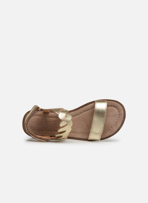 Sandales et nu-pieds Bisgaard Joe Argent vue gauche