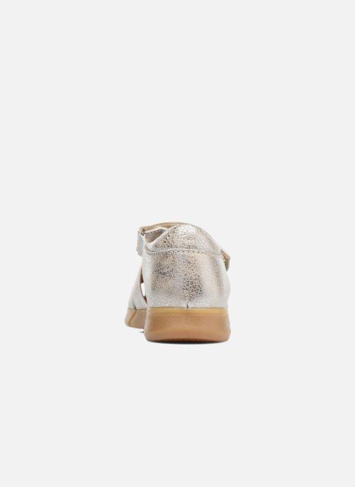 Sandales et nu-pieds Bisgaard Kaj Argent vue droite