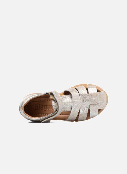Sandales et nu-pieds Bisgaard Kaj Argent vue gauche