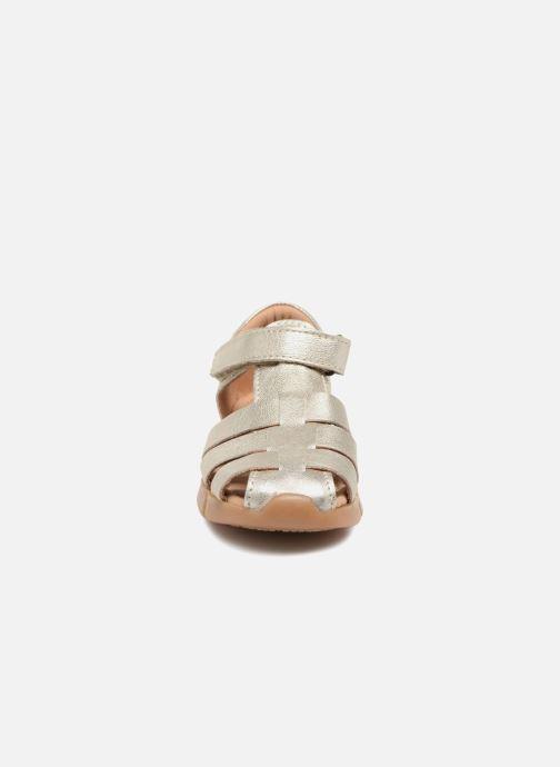 Sandalen Bisgaard Kaj silber schuhe getragen
