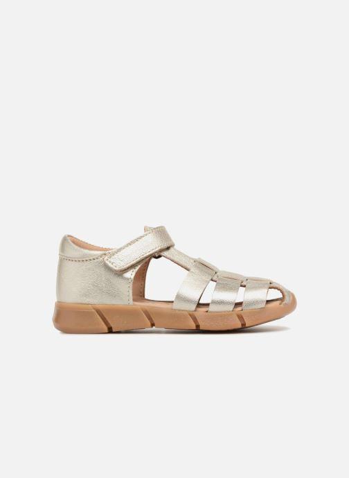 Sandales et nu-pieds Bisgaard Kaj Argent vue derrière
