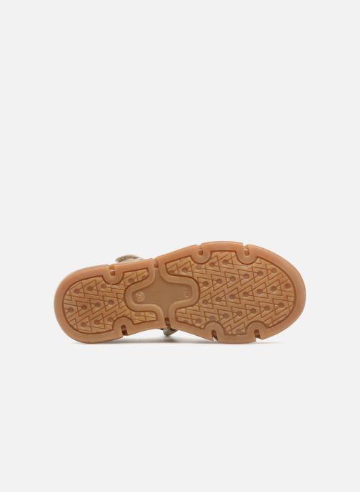 Sandales et nu-pieds Bisgaard Kaj Argent vue haut
