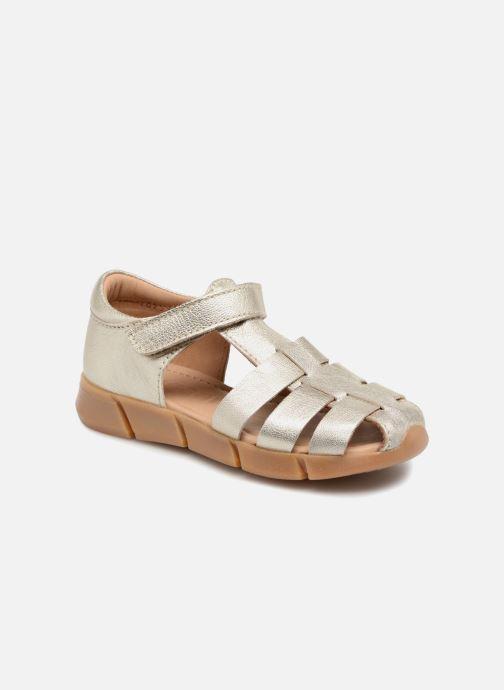 Sandales et nu-pieds Bisgaard Kaj Argent vue détail/paire