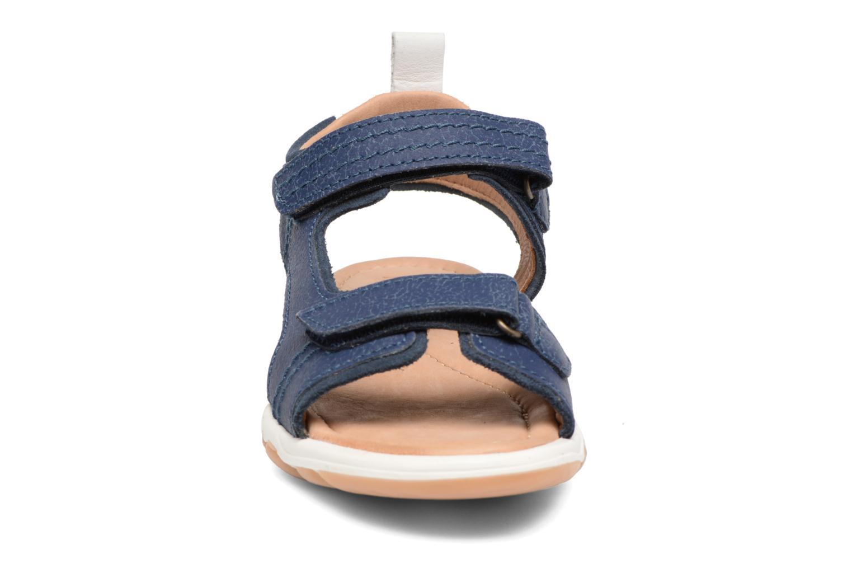 Sandalen Bisgaard Torben blau schuhe getragen