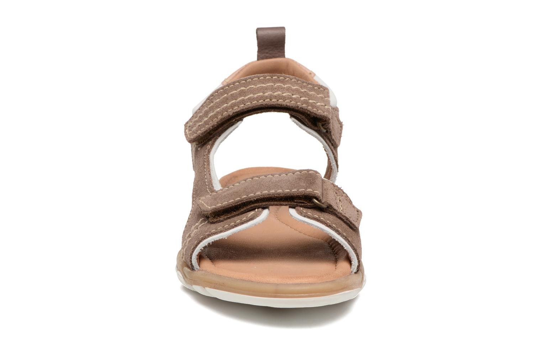 Sandalen Bisgaard Torben braun schuhe getragen