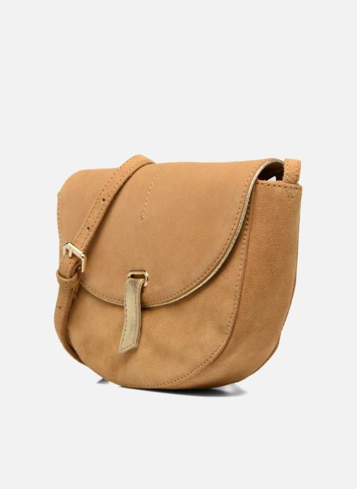 Handbags Petite mendigote Come Beige model view