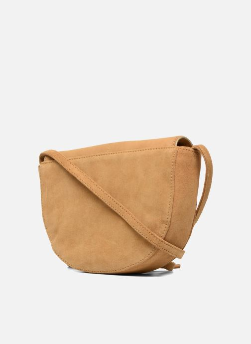 Handbags Petite mendigote Come Beige view from the right
