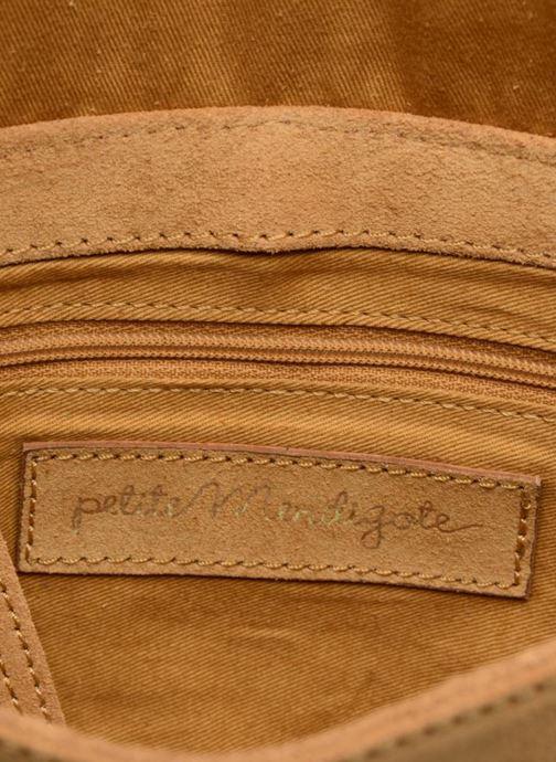 Handtassen Petite mendigote Come Beige achterkant
