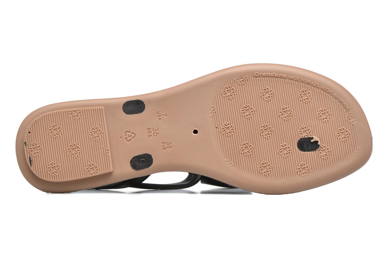 Sandals Grendha Sense sandal fem Brown view from above
