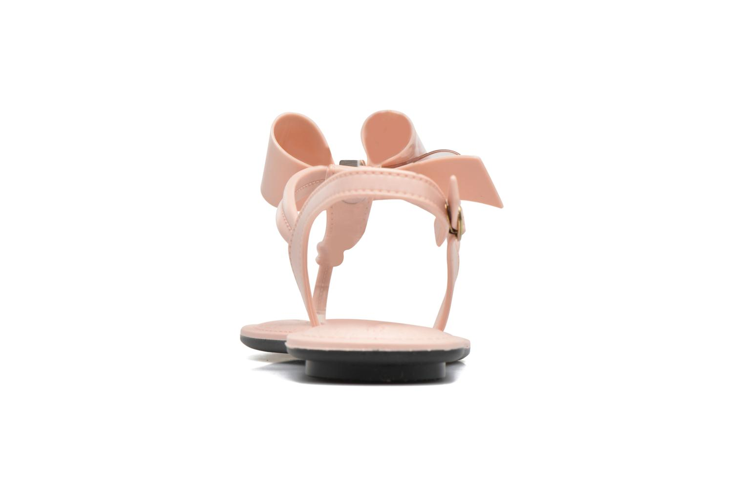 Sandals Grendha Sense sandal fem Pink view from the right