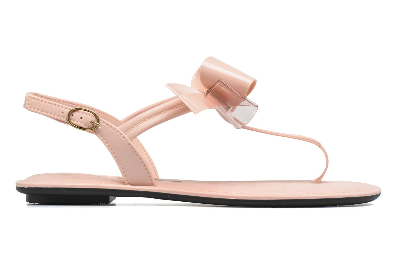 Sandalen Grendha Sense sandal fem Roze achterkant