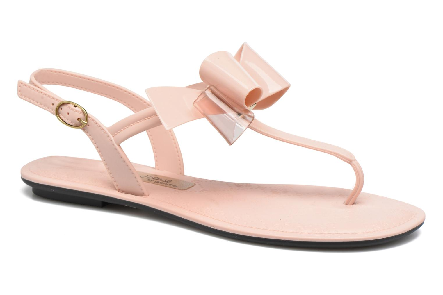 Sandals Grendha Sense sandal fem Pink detailed view/ Pair view