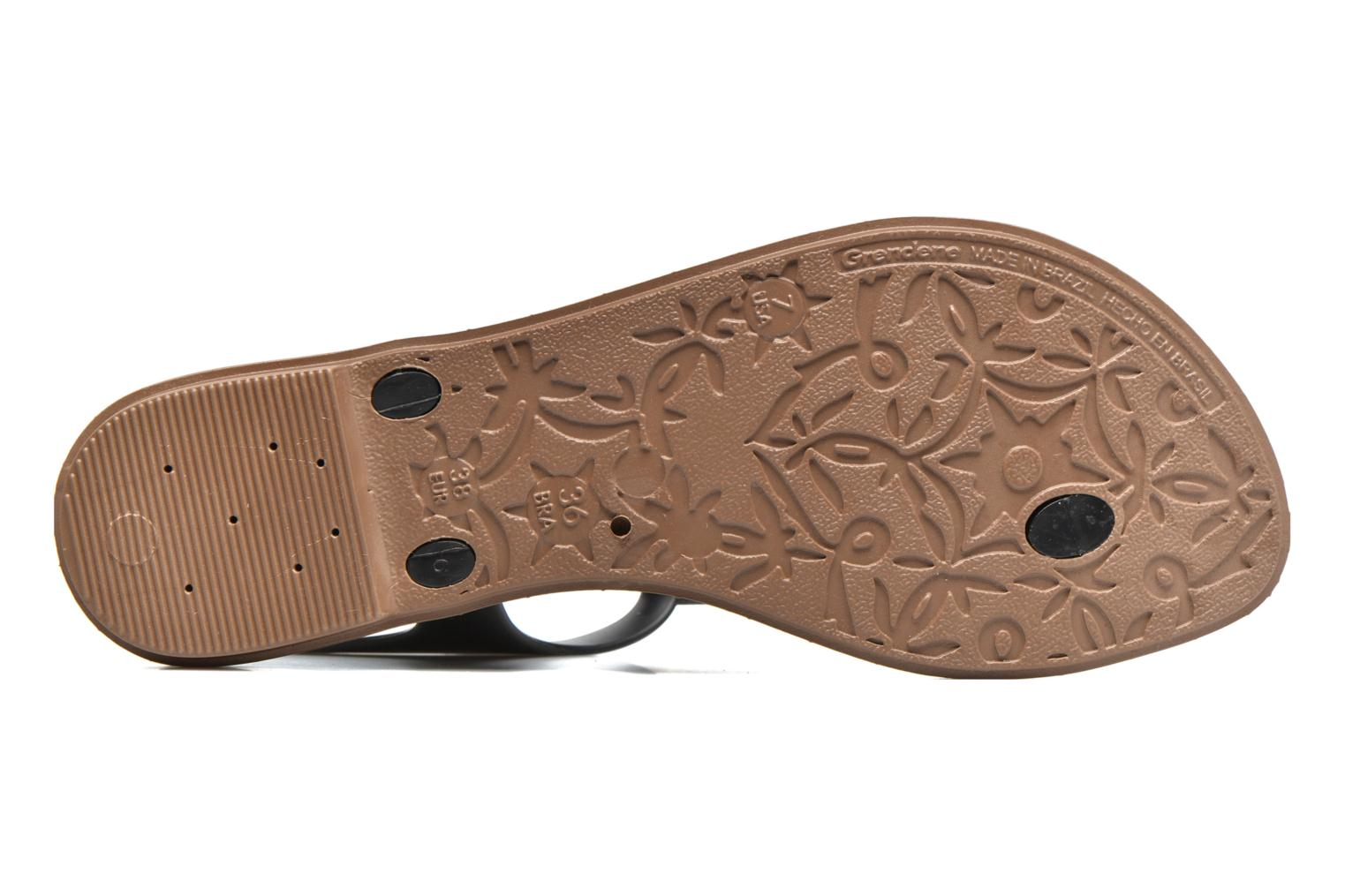 Sandals Grendha Jewel Sandal Black view from above