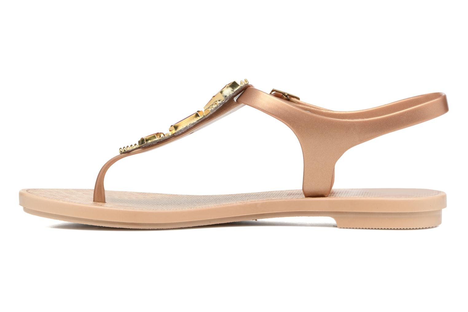 Sandals Grendha Jewel Sandal Beige front view