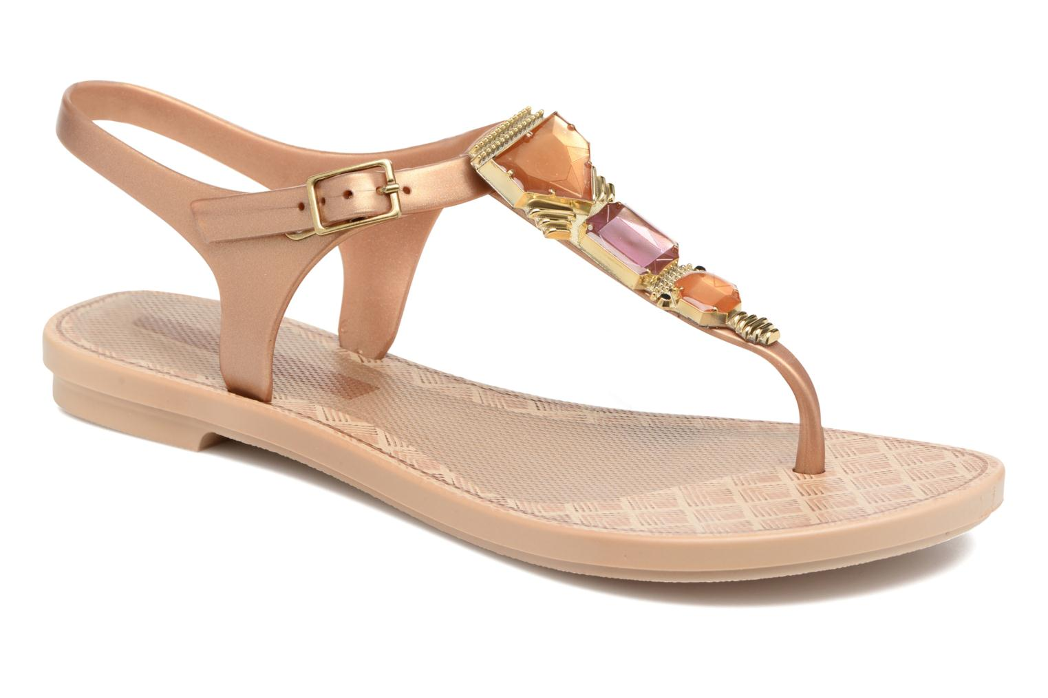 Sandals Grendha Jewel Sandal Beige detailed view/ Pair view
