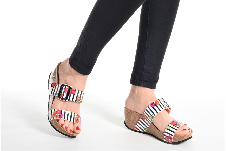 Sandales et nu-pieds Desigual SHOES_BIO 8 Multicolore vue bas / vue portée sac