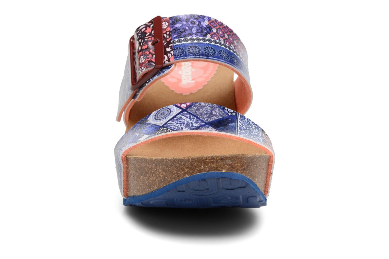 Sandales et nu-pieds Desigual SHOES_BIO 8 Multicolore vue portées chaussures