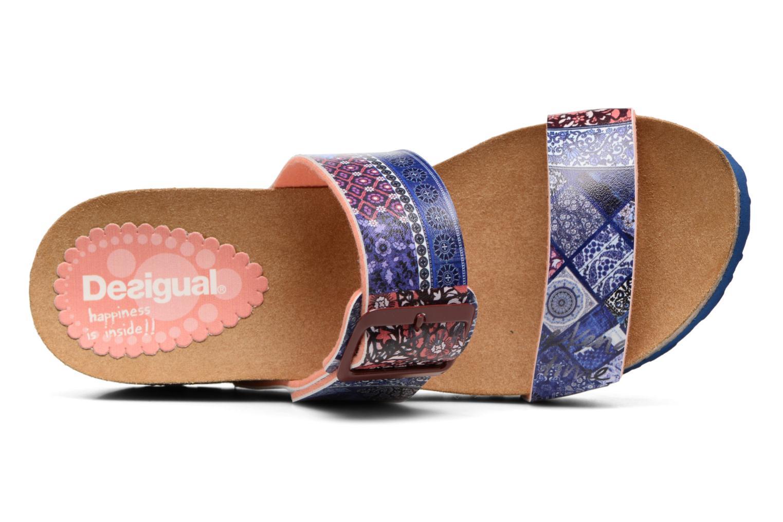 Sandales et nu-pieds Desigual SHOES_BIO 8 Multicolore vue gauche