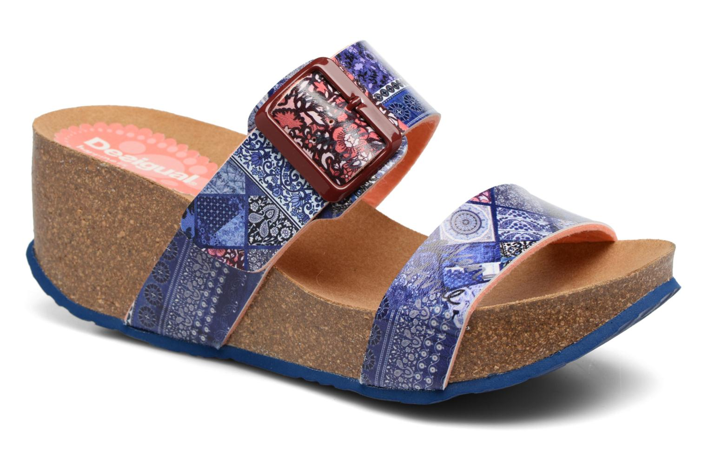 Sandales et nu-pieds Desigual SHOES_BIO 8 Multicolore vue détail/paire