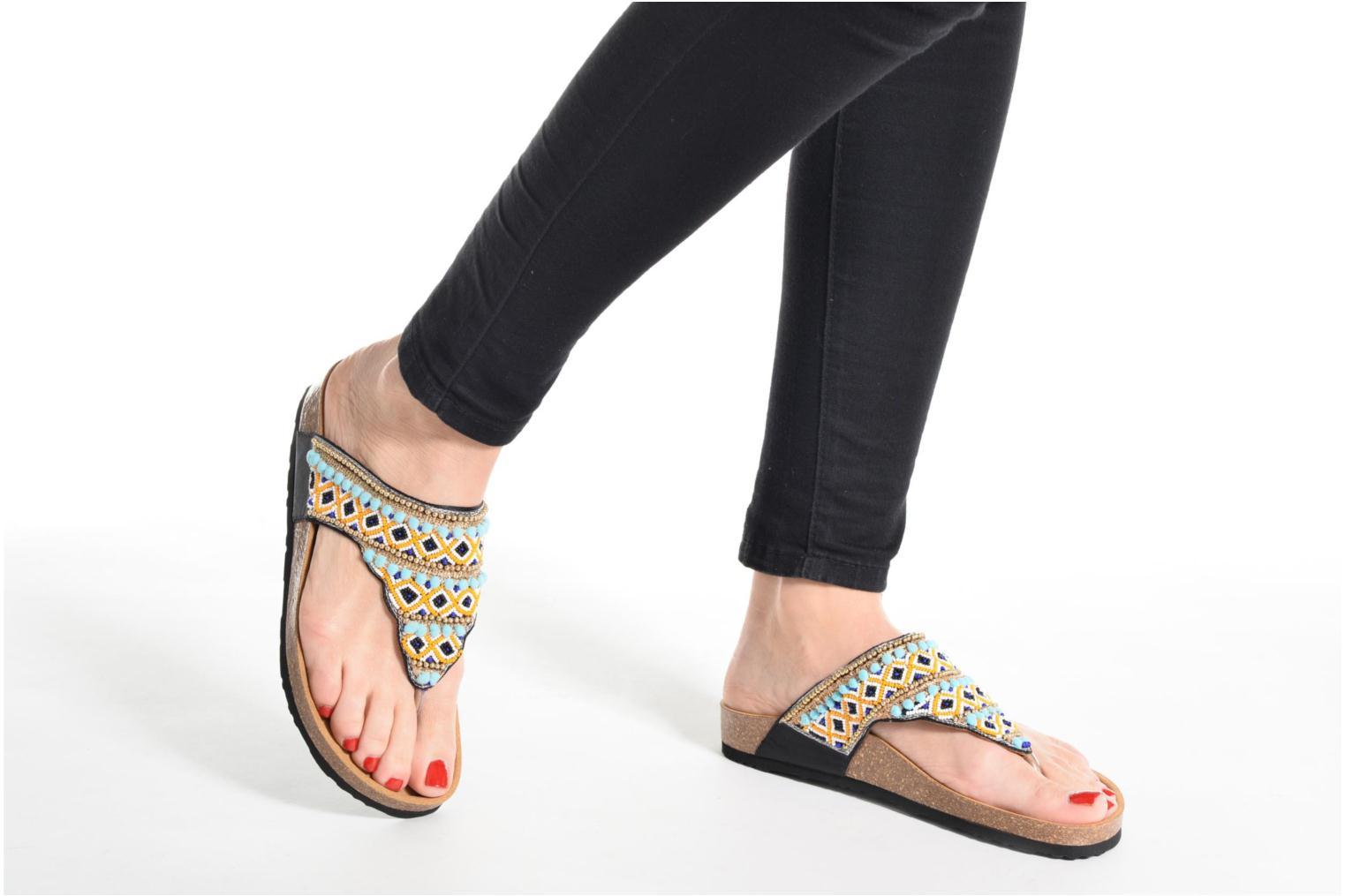 Sandalen Desigual SHOES_TAJMAHAL mehrfarbig ansicht von unten / tasche getragen