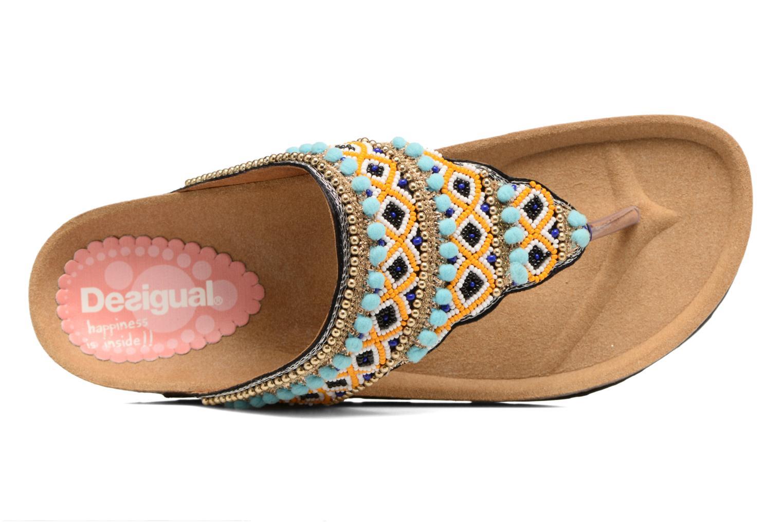 Sandalen Desigual SHOES_TAJMAHAL mehrfarbig ansicht von links