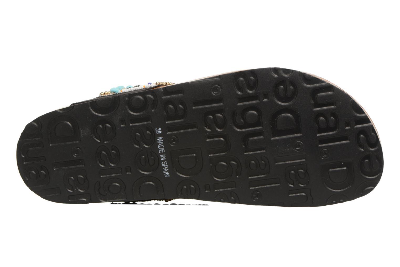 Sandalen Desigual SHOES_TAJMAHAL mehrfarbig ansicht von oben