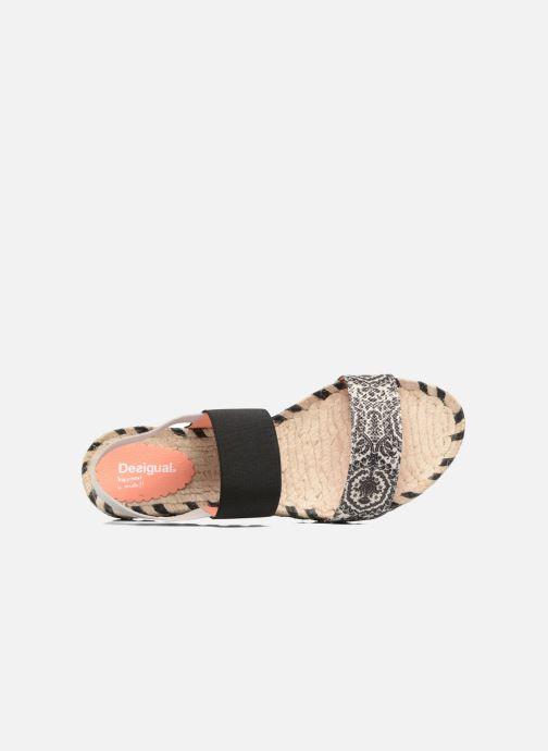 Sandales et nu-pieds Desigual SHOES_FORMENTERA Noir vue gauche