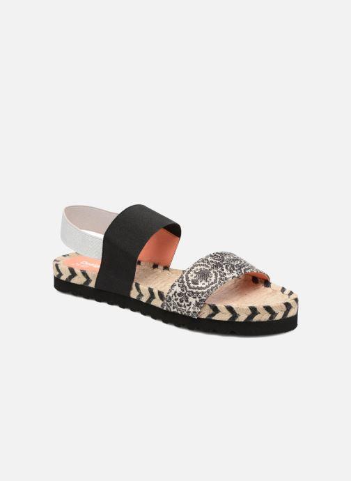 Sandales et nu-pieds Desigual SHOES_FORMENTERA Noir vue détail/paire
