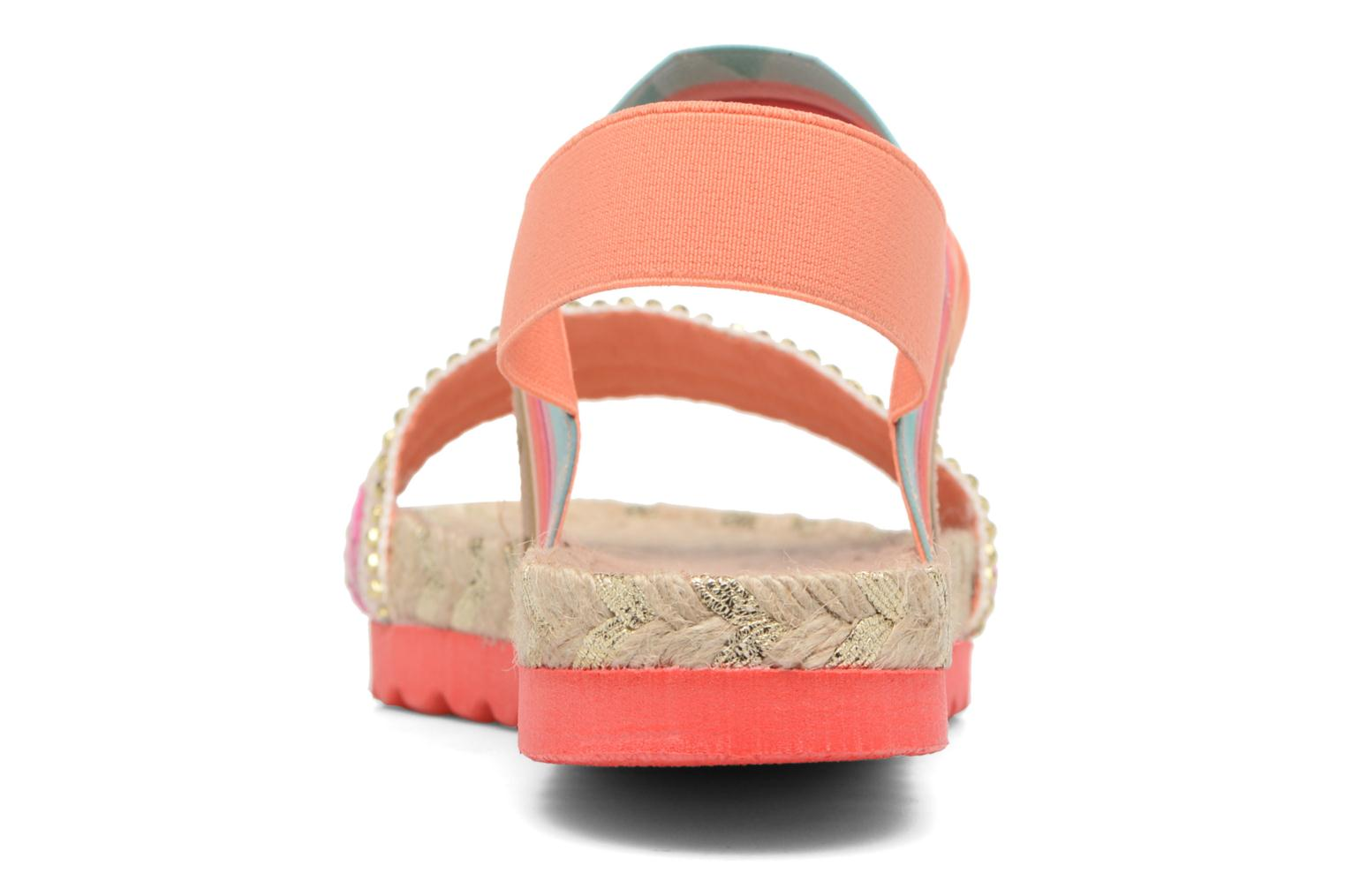 Sandals Desigual SHOES_FORMENTERA Multicolor view from the right