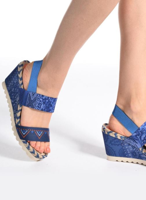 Sandals Desigual SHOES_IBIZA Multicolor view from underneath / model view