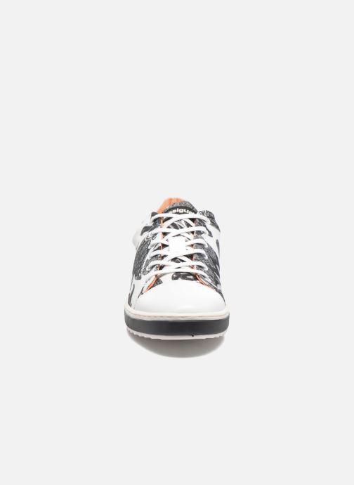 Baskets Desigual SHOES_SUPPER HAPPY Multicolore vue portées chaussures