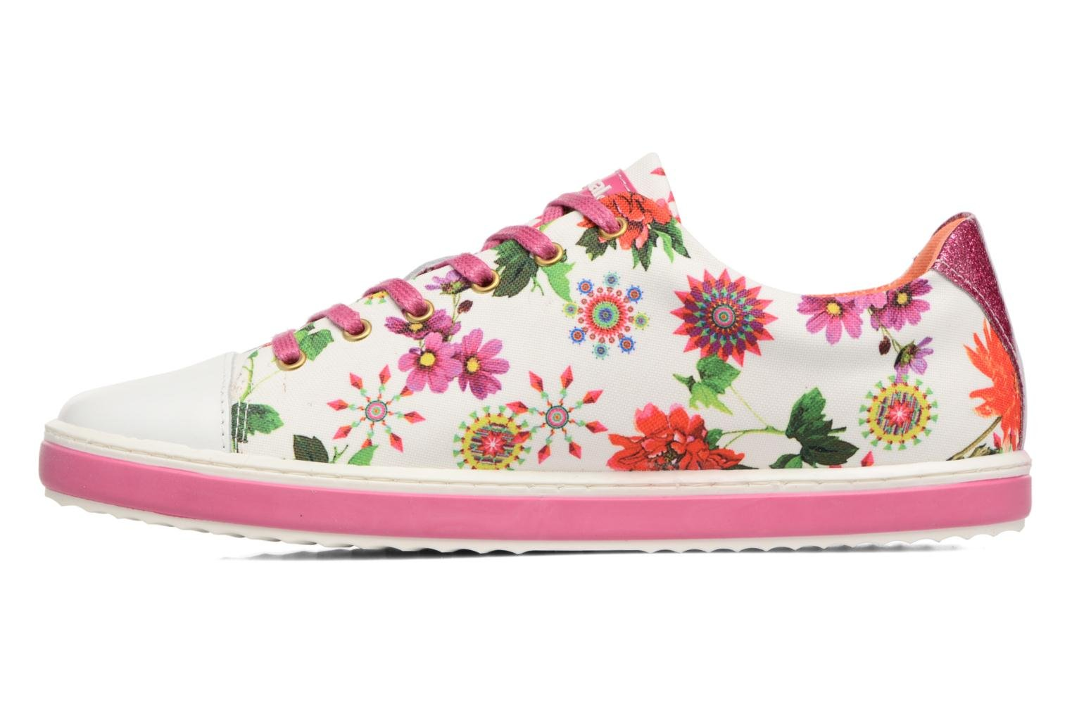 Trainers Desigual SHOES_SUPPER HAPPY Multicolor front view