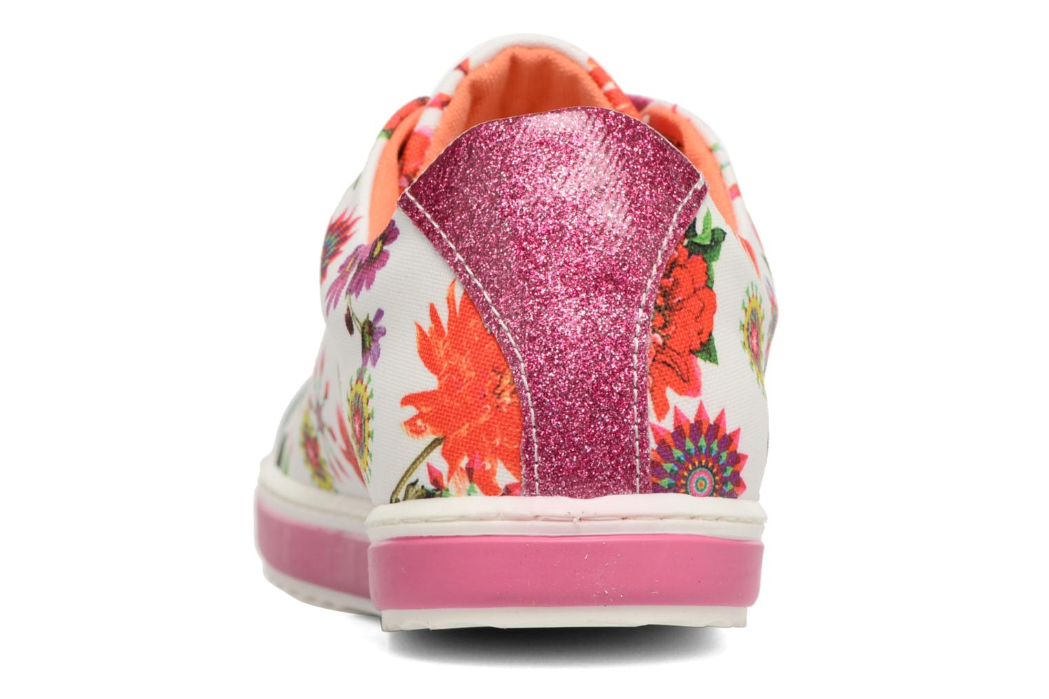 Trainers Desigual SHOES_SUPPER HAPPY Multicolor view from the right